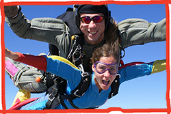 The Children's Respite Trust Autumn Charity Skydive for supporters across Sussex and Kent wanting to take part in a charity skydive to raise money to support disabled children and their families from Eastbourne to East Grinstead and from Heathfield and Uckfield to Hastings