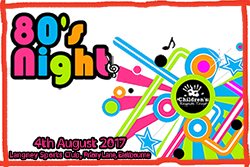 Eighties night for Children's Respite Trust