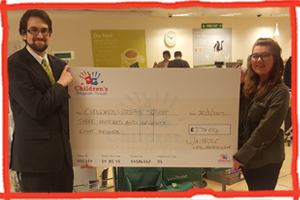 Waitrose cheque to Children's Respite Trust
