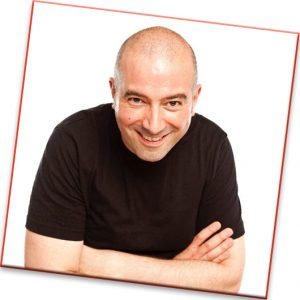 Stefano Paolini is on the bill at this year's Children's Respite Trust charity Comedy Night in support of disabled children through East Sussex and Kent held at Eastbourne's Langney Sports Club home of Eastbourne Borough Football Club