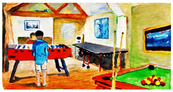 The new charity respite centre for disabled children in Uckfield, serving Sussex, Surrey and Kent will have a games room