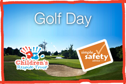 Simple Safety Advice are Supporting the Children's Respite Trust's annual charity Golf Day at Chartham Park Golf Club in East Grinstead, supporting children and families across East Sussex from Eastbourne to Hastings and Tunbridge Wells to Uckfield