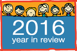 Looking back over 2016 for the CHildren's Respite Trust Children's Charity in Sussex, Kent and Surrey