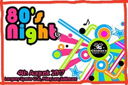 Eighties night for Children's Respite Trust