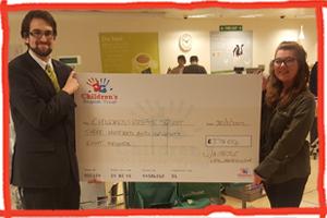 Waitrose cheque to Children's Respite Trust