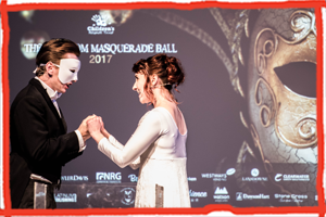 A Charity Masquerade Ball in Eastbourne has raised funds for the Children's Respite Trust assisting families of disabled children across East Sussex, West Sussex, Surrey and Kent