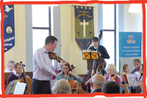 Eastbourne charity concert for the Children's Respite Trust is held by Sussex Strings in Willindon