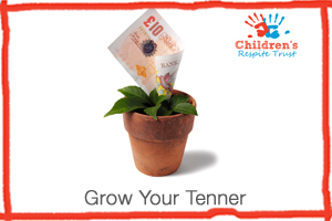 Money growing for the Children's Respite Trust's Charity Fundraiser