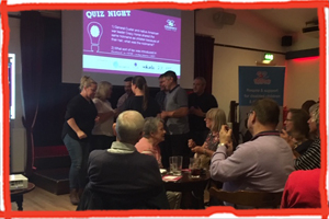 Uckfield's Charity Quiz Night for the Children's Respite Trust