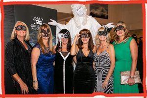 Guests at the Children's Respite Trust Charity Masquerade Ball 2019 in East Sussex