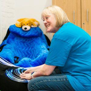 East Sussex Charity, the Children's Respite Trust's Volunteer Support-Worker Anne-Marie Prescott