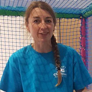 East Sussex Charity, the Children's Respite Trust's Volunteer Support-Worker Sarah-Jane Scott