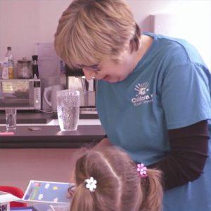 East Sussex Charity, the Children's Respite Trust's support-worker Suzanne Pollard