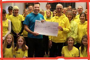 Uckfield Runners donate to the Trust