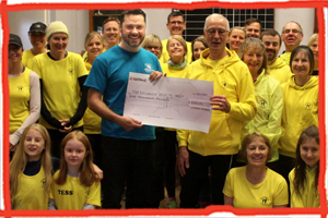 Uckfield Runners donate to the Trust