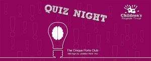 The Children's Respite Trust Charity Quiz Night in East Sussex will be held on January 31st at the Cinque Ports Club in Uckfield