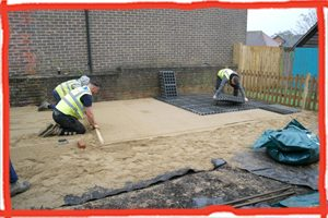 Phase 2 of the building works begin