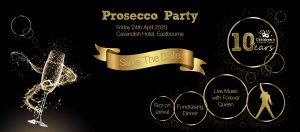 Prosecco Party in aid of the Children's Respite Trust