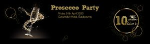 Forever Queen at the Children's Respite Trust Prosecco Party in Eastbourne, East Sussex