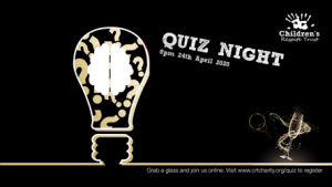Quiz Night in Celebration of the Chidlren's Respite Trust Charity's 10 year Anniversary
