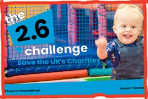 The Two Point Six Challenge is launched to save the UKs charities