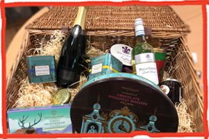 Hamper Raffle for the Children's Repsite Trust in Sussex and Kent for a Fortnum and Mason Hamper