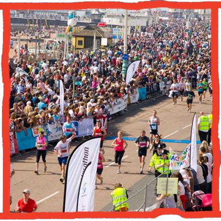 Charity places in the Brighton Marathon for the Chidlren's Repsite Trust