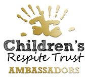 Ambassadors of teh Children's Repsite Trust are proud to fly the flag for the Charity