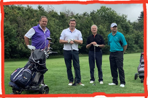 Swinging Success of Children's Respite Trust Charity Golf Day with Simple Safety Advice in Edenbridge, Kent.
