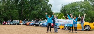 Supporters at the Launch of the Charity acetrack Run for the... </p srcset=