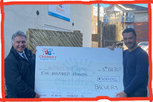 Brewers Decorator Centres supports the Children's Respite Trust Charity in Sussex and Kent